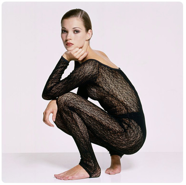 Terry O'Neill, 'Kate Moss, Body Stocking (Co-Signed)', 1993, Mouche Gallery