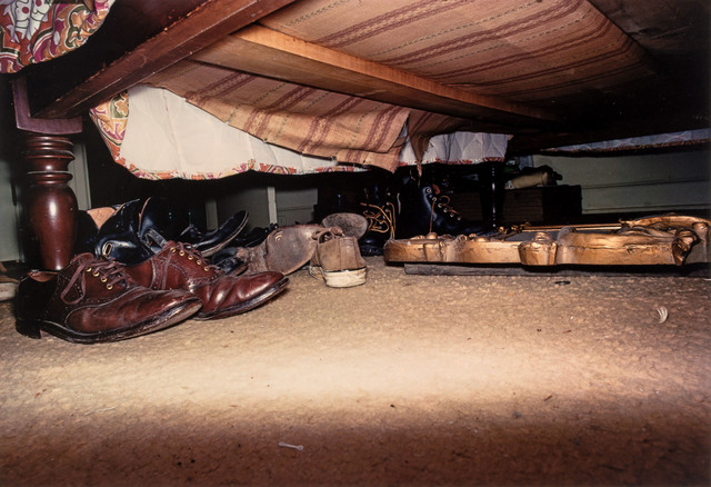 William Eggleston, 'Untitled [Shoes under Bed]', circa 1972, Doyle