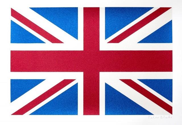 Peter Blake, 'Union Flag- Glitter ', Rhodes
