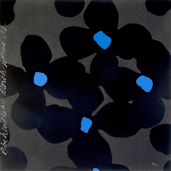 , 'Black and Blues,' 2011, Adamar Fine Arts