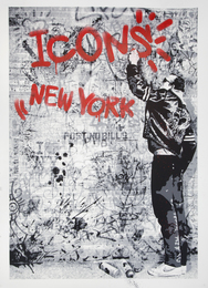 Mr. Brainwash, 'The Wall (Keith Haring),' 2009, Julien's Auctions: Street Art Now November 2016