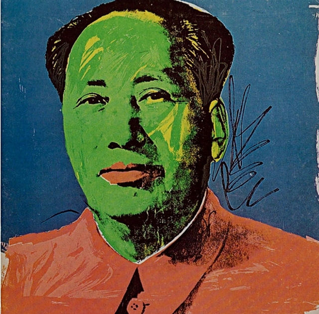 Andy Warhol, 'Mao Tse-Tung Castelli Gallery Announcement Card (Leo Castelli Mao)', 1972, Print, Silkscreen on invitation card. unframed., Alpha 137 Gallery Gallery Auction