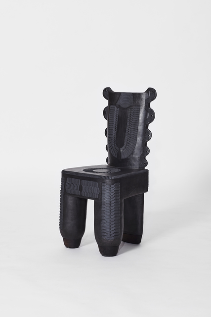 , 'Soze Isitulo Sodaka (Mud chair in Xhosa),' 2018, Southern Guild