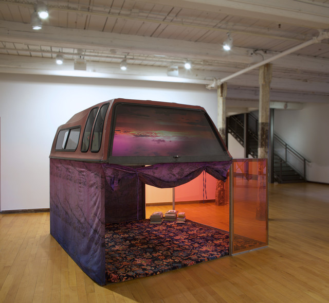 , 'Driving, sleeping, screwing, reading,' 2016, MASS MoCA