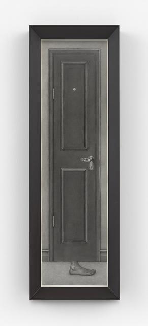 , 'Black Door,' 2015, Gagosian
