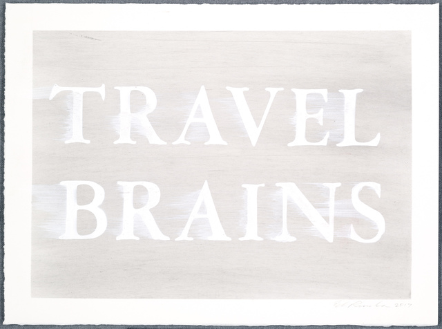 , 'Travel Brains,' 2017, VARIOUS SMALL FIRES