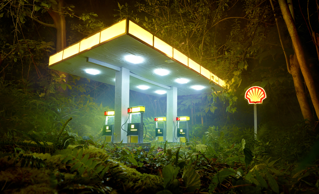 David LaChapelle, 'Gas Shell', 2012, Galerie Frank Pages