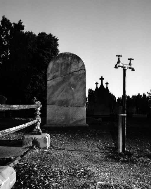 , 'Cemetery, Adelaide,' 2007, Hugo Michell Gallery