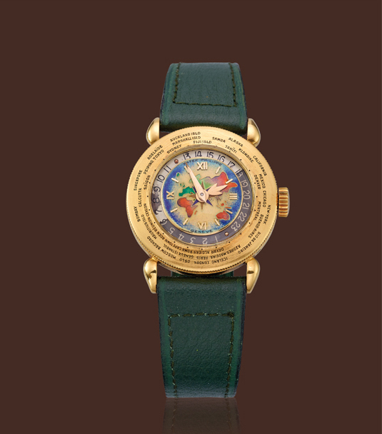 , 'Yellow gold world-time wristwatch,' , Davide Parmegiani Fine Watches