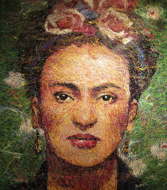 , 'Frida Kahlo,' 2018, Angela King Gallery
