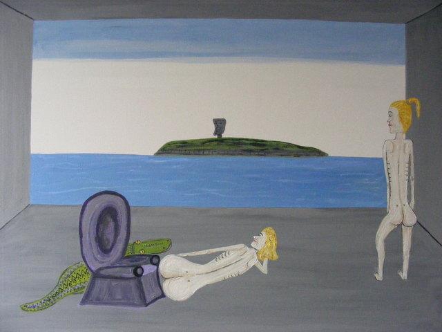 , 'Rebel Island,' 2017, Mark Borghi Fine Art