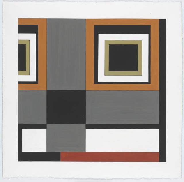 , 'Carpet Color Study #3,' 2014, New Art Centre