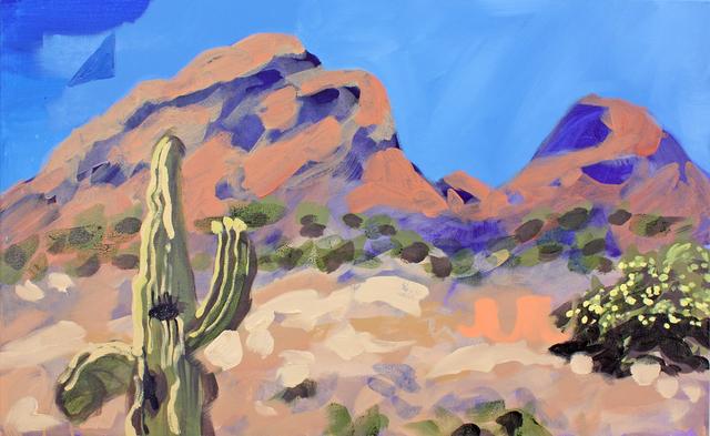, 'Phoenix Saguaro (The Prophet),' 2017, G. Gibson Gallery