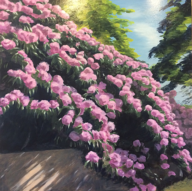 , 'Cascading Rhodies,' , The South Street Gallery