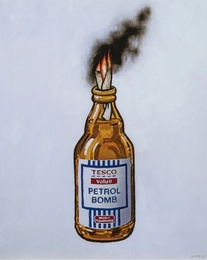 After Banksy, 'Tesco Value Petrol Bomb,' 2011, Forum Auctions: Editions and Works on Paper (March 2017)