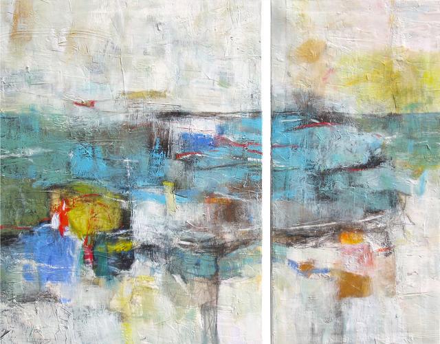 , 'Arpeggio (Diptych),' 2018, Ventana Fine Art