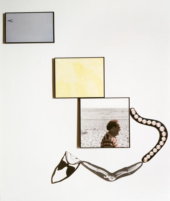 John Baldessari, 'Bat: Passer-by/ Void / Airplane / Pearls / Smile', 1992, Marian Goodman Gallery