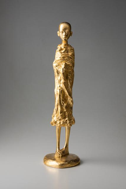 CHEN JING-QING 陳金慶, 'Buddhi 2 菩提之二', 2012, Sculpture, Bronze & 24K Gold, ESTYLE ART GALLERY 藝時代畫廊
