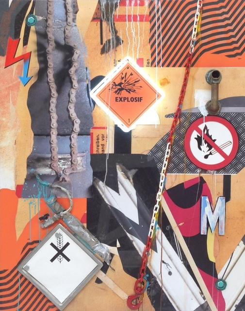 Peter Klasen, 'EXPLOSIFS / CHAINES / NO SMOKING', 2014, Gallery 32