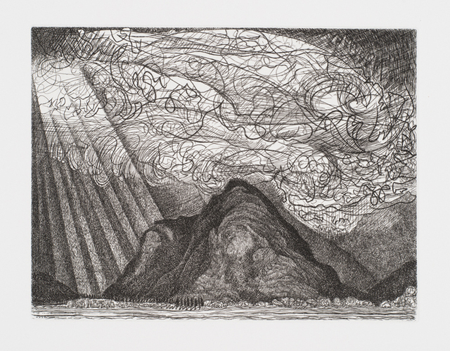 , 'Mont'Orfano After the Storm,' , Royal Society of Painter-Printmakers