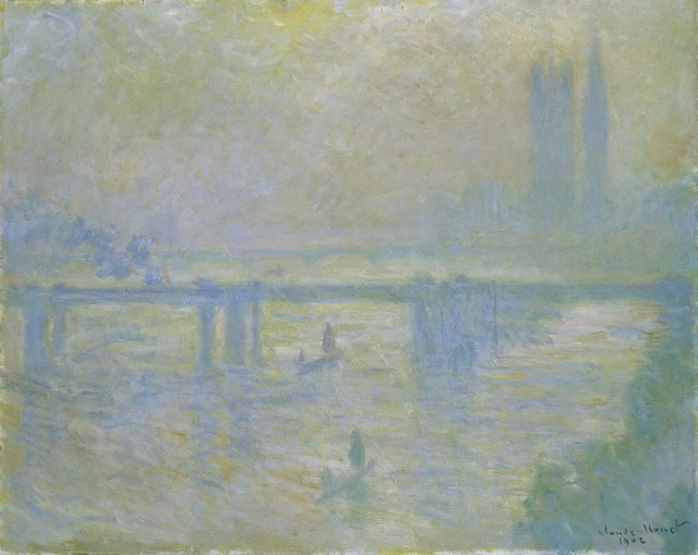 , 'Charing Cross Bridge,' 1902, American Federation of Arts