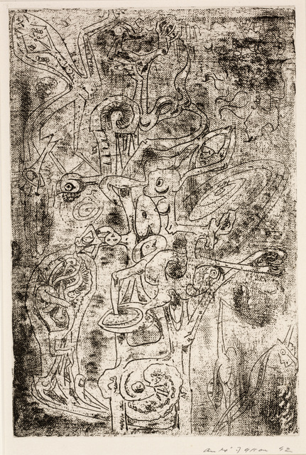 André Masson, 'The Fruits of the Abyss (Les fruits de l abîme)', 1942, Print, Etching, Dallas Museum of Art