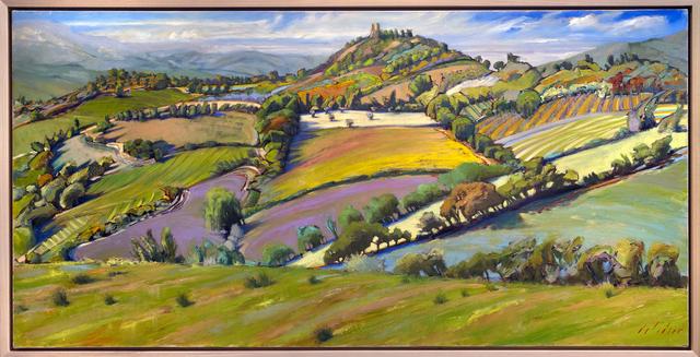 , 'Tuscan Geometry,' 2019, Blue Rain Gallery