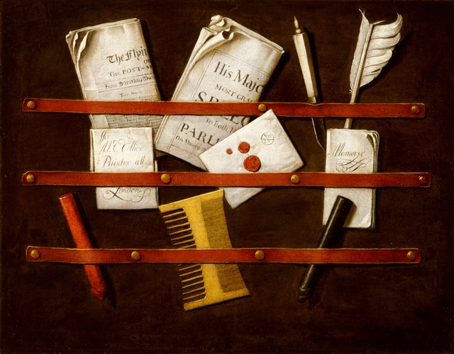 Edwaert Colyer, 'Still Life', ca. 1696, Indianapolis Museum of Art at Newfields