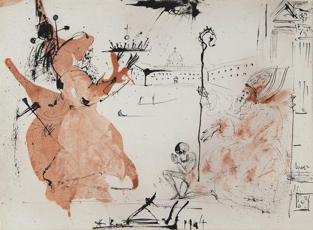 Salvador Dalí, 'Le cardinal', 1964, HELENE BAILLY GALLERY