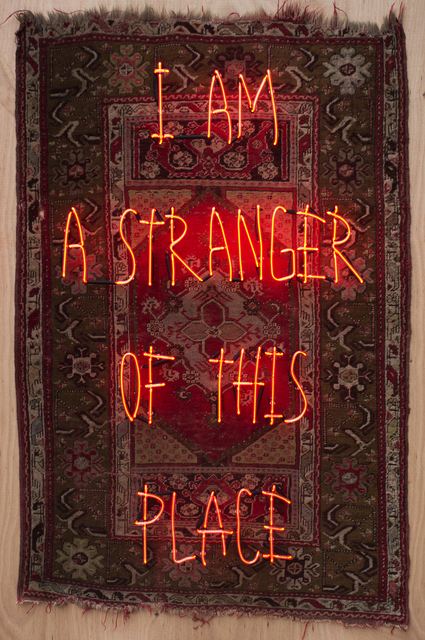 , 'I am a Stranger of This Place,' 2018, Anna Laudel