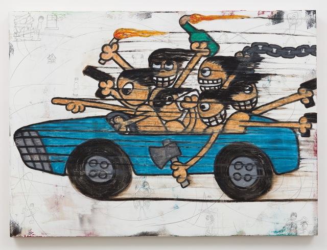 , 'Joyride!,' 2018, Anat Ebgi