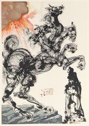 Ein Fremd und grausam Untier, Cerberus, Dreimaulig, bellend wie ein Hund und beissend