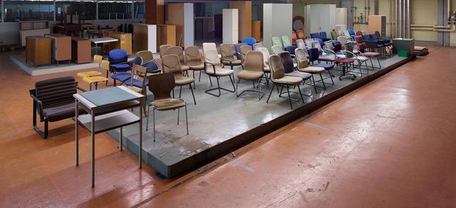 , 'Stühle,' 2014, FELD+HAUS