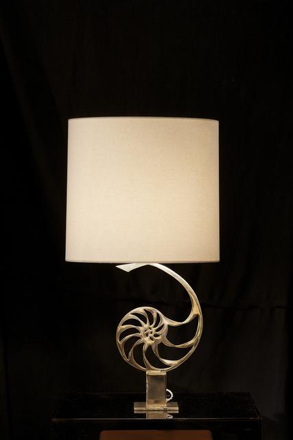 , 'Nautilus lamp,' ca. 1969, Demisch Danant