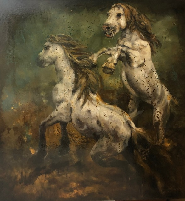 Jill McVarish, 'Ballad of the Runaway Horse', 2020, Painting, Oil on canvas, McVarish Gallery