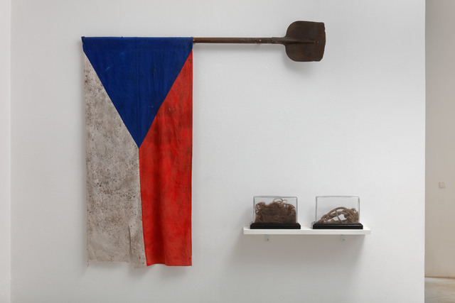 , 'The flag,' 2017, DSC Gallery
