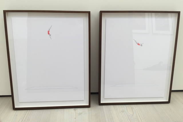 , 'Divers diptych,' 2015, Joanna Bryant & Julian Page