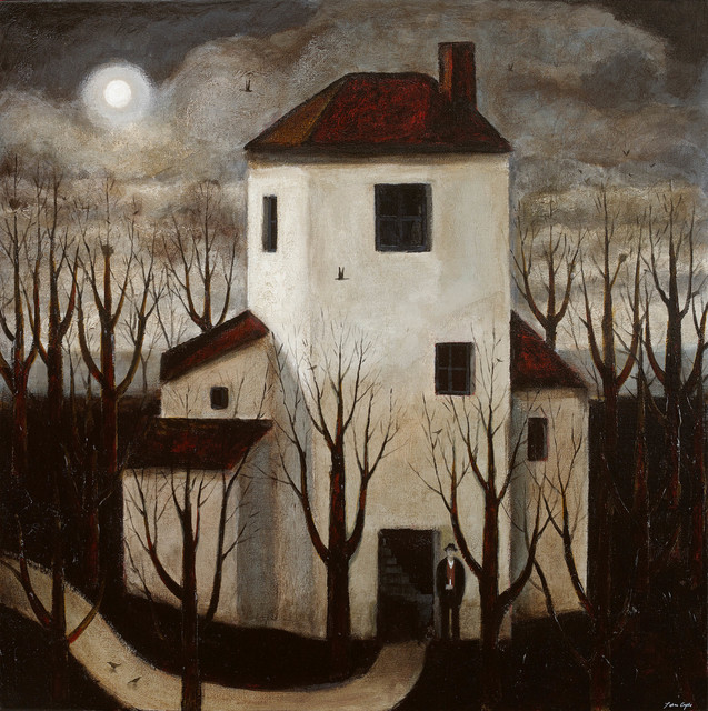 , 'The Poet's House,' 2017, John Martin Gallery