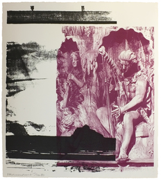 Robert Rauschenberg, 'Dallas Cares,' 1998, amfAR: Benefit Auction 2016