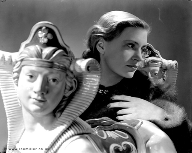 Lee Miller, 'Selfportrait  with sphinxes, Vogue Studio, London', 1940, °CLAIRbyKahn Galerie