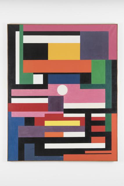 , 'slalom,' 1960, Galerie Denise René