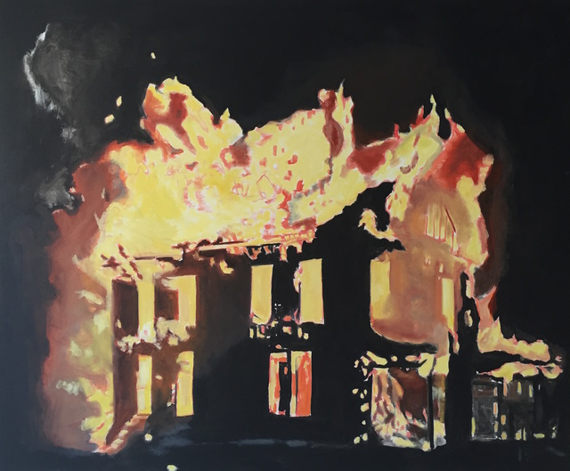 , 'House on Fire,' 2016, Baahng Gallery