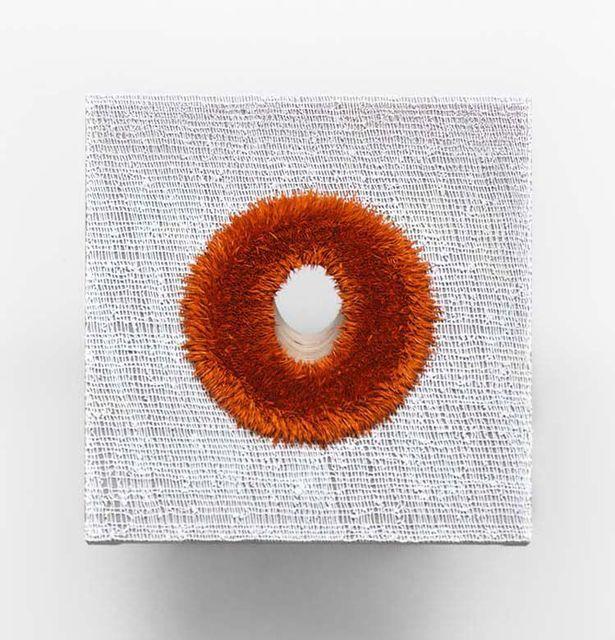 , 'Lot 061110/12 (the cadmium hole),' 2010-2012, David Zwirner