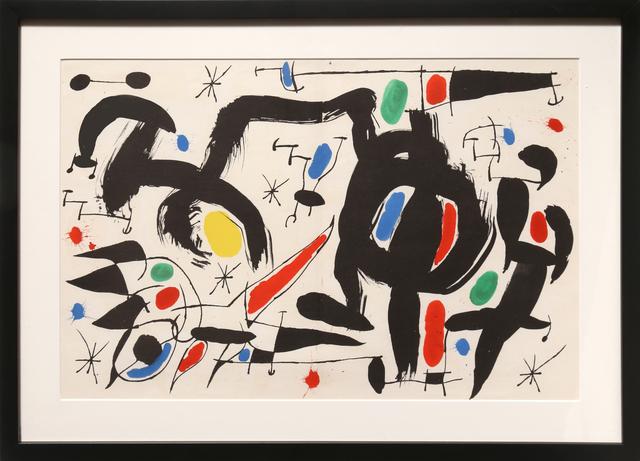 Joan Miró, 'Les Essencies de la Tierra 7', 1968, RoGallery