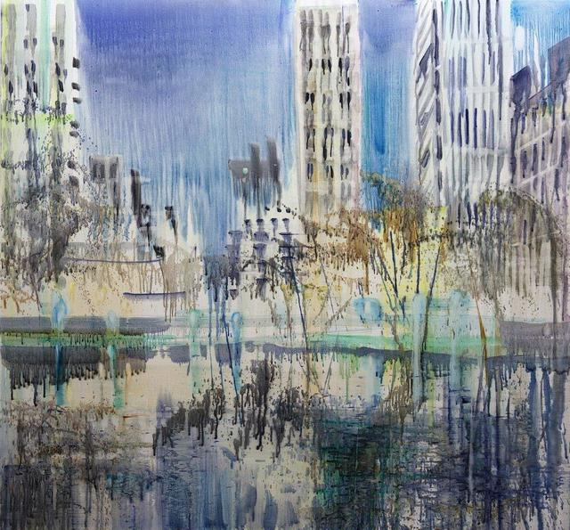 , 'Central Park 2,' 2018, Galerie Andreas Binder