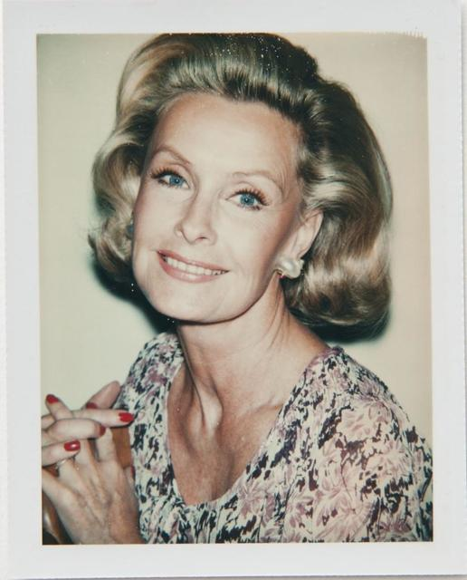 Andy Warhol, 'Andy Warhol, Polaroid Photograph of Dina Merrill, 1976', 1976, Hedges Projects