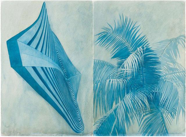 Robert Stackhouse, 'Blue 5606', 2006, Print, Off-set lithograph, Graphicstudio USF