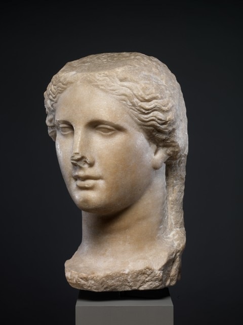 Unknown Greek, 'Marble head of a Ptolemaic queen', ca. 270–250 B.C., The Metropolitan Museum of Art
