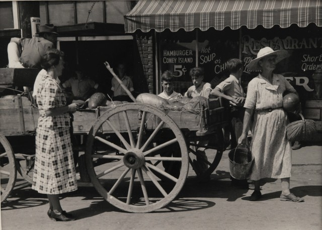 , 'Watermelon Cart,' 1939, The Halsted Gallery