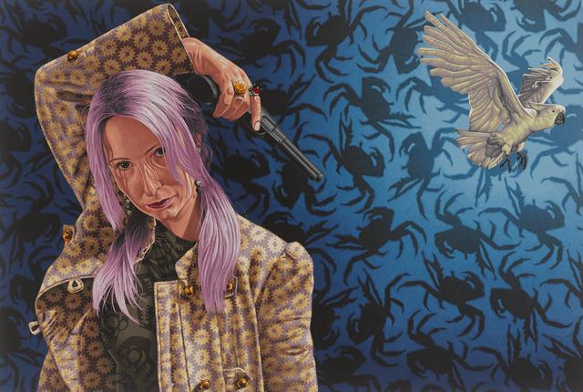 Stephen Hall, 'Painting: 'Hijacker'', 2014, Ivy Brown Gallery